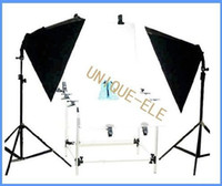 Wholesale Photograph Studio Stand Softbox Lighting Kit with CM Photographic Platform