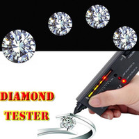 Wholesale V2 Diamond Tester Gemstone Selector Jewelry Watcher Tool LED Audio Inspector New