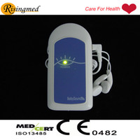FDA beating heart sound - 2 Salable Fetal Doppler Baby Sound A MHz good for pregnancy mother use to test baby heart beat