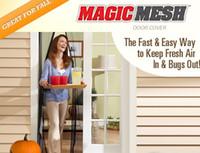 Wholesale Magic Mesh HandsFree Scree door Bugmesh Magnetic Door Screen Keep Bugs Out cm
