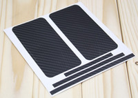 Wholesale Carbon fiber sticker for iphone S iphone4S skin Full Body Cover Protector Black White Golden