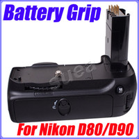 Wholesale MeiKe Battery Grip for Nikon D90 D80 MB D80 MB D90