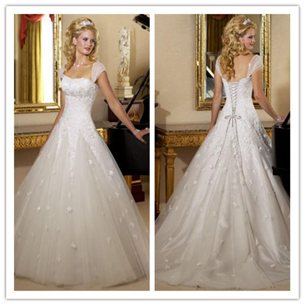 Beautiful Wedding Dresses With Straps