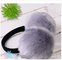 Wholesale Rabbit ears set of ears copy bag ear cover ears in warm adjustable men and women type hot sale