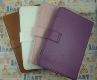 tablets for sale - Hot Sale Cheap inch colors Violet white etc Leather Case Cover Protector Skin for quot Tablet PC