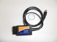 Wholesale ELM327 OBDII USB diagnostic Scanner ELM OBD2 car Tools a