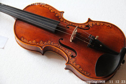 Wholesale New High Grade violin Antique embossed V