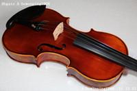 4/4 size Acoustic Orange New -High-Grade 4 4 violin BACK BIRDEYES MAPLE V10E