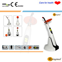 Wholesale Cordless Led Dental - Dental 5W Wireless Cordless LED Curing Light Lamp 1400mw