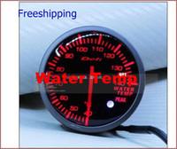 Wholesale New year sell mm defi gauge white Red water Temp gauge car meter
