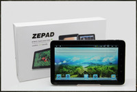 Wholesale capacitive android tablet pc Zenithink ZT C91 Cortex A9 Android Multi touch Camera