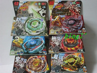 Wholesale Newest series TOMY Rapidity Beyblade D BB106 BB108 spinning top spin toy metal fusion models mix