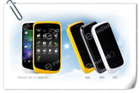 Wholesale WCDMA A101 Dual SIM Capacitive Android GPS WIFI G MTK6573 cell phones f8 i68 i9