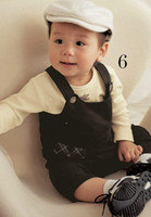 Spring / Autumn 100% Cotton Long Sleeve Children popular Rompers clother Baby long-piece suit jumper boy pure cotton bodysuit romper costume