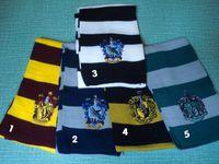 Wholesale New cm long Children gift Harry Potter School Scarf bandelet muffler neckerchief with badges model