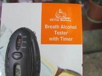 Wholesale Digital LCD Alcohol Analyzer Breath Tester Breathalyzer with Flashlight function Key Chain Style