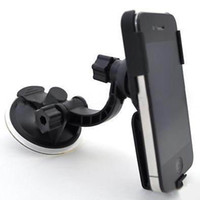 Wholesale Belt clip Windshield Car Mount Holder Stand for iPhone G