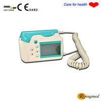 Wholesale PREGNANCY MOTHER USE FOR BABY CARE Fetal Doppler RFD A MHz LCD Display amp Rechargeable Batteries