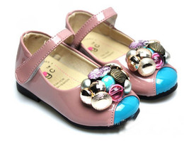 Wholesale Baby girls shoes kids flower shoes Cute princess shoes baby girls cat children shoes D CJQ