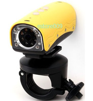 Wholesale New METERS UNDERWATER WATERPROOF NIGHT SPORTS HELMET VIDEO CAMERA MINI DVR CAM