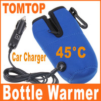 Wholesale 12V Universal Travel car Heater for Baby feeder Kid Bottle Warmer feeder Blue Heater in Car H4952