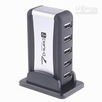 Wholesale Powered Splitter USB HUB hub Port High Speed Mps AC Adapter Cable with US UK AU EU Plug