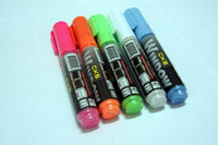 artist board - New Fluorescence Marker pen color Special for LED Fluorescent writing board Artist Nite writer pen