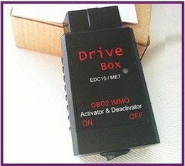 Wholesale Drive Box OBD2 IMMO Deactivator amp Activator in Promotion with Cost