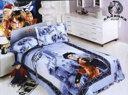 Wholesale Brand new Harry Potter Cartoon Bed Quilt Cover Set bed size cm