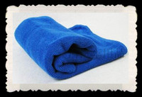 Wholesale Superfine fiber Cleaning towel with blue cm Waxing multi purpose towel Cleaning supplies