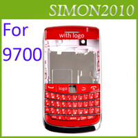 Wholesale Chrome Electroplate Full Housing For Blackberry Bold BB9700 with Keyboard Door Back Faceplates