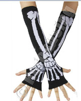 Wholesale skull dew refers to arm set without a long gloves skeleton s vampire gloves