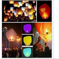 Christmas   Kongmingdeng COLOURED SKY LANTERNS CHINESE Fay Balloon Christmas gift -Wishing Lamp,valentine's