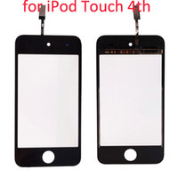 Wholesale Digitizer Screen For iPod Touch th Black I00292