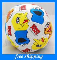 Wholesale hot baby birthday gifts Sesame Street softplay Ai Momo doll ball baby toys EMS