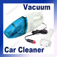 Plastic 41cm x 9cm x 11cm Blue+White 12V Mini Portable Handheld High-Power Car Vacuum Cleaner DC12V 60W Blue+White #1618