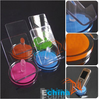 Wholesale Mini Mobile Phone Holder Cellphone Holder Acrylic Mobile Phone Holder Mobile Display Stand YA1765