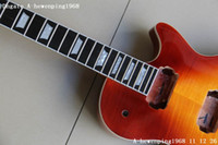 Electric gibson - New Guitar body made of mahogany bodwith fretside end and one piece neck best Verion