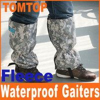 Wholesale Warm Outdoor Hiking Climbing Gaiters Snow Waterproof Fleece Boot amp Leg Gaiter Camouflage Color H4977
