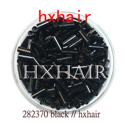 1000pcs 2.8mm Copper Tube Micro Rings   Links Beads   Black D-Brown Brown L-Brown Blonde