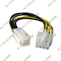 Power Cable atx power adapter - 500pcs C59 ATX Pin male to Pin Female EPS Power Cable Adapter