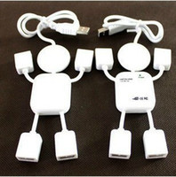 Wholesale real high speed chip point line device four hubs Cute little humanoid