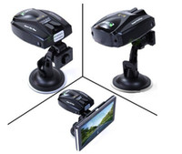 Wholesale Hot sell Full Bands Car Laser Detector For Usage with Any GPS Navigation Player support Russi