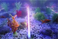 Wholesale W waterproof LED Aquarium lamp IP68 Piranhas diving LED light cm color choose