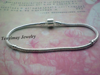 Wholesale Fashion Silver Plated Snake Chain Charms Bracelets For DIY