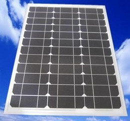 Wholesale 45W V High quality monocrystal solar panel years using life silicon solar panel module