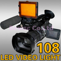 Wholesale LED Studio Light Color Temperature K K LED Camera Camcorders Video Light DC95