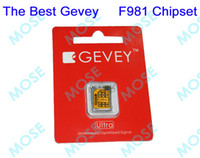 Wholesale Gevey Ultra Supreme no Original F981 Chipset Best Turbo Sim Unlock Unlocking For iPhone4