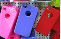 NEW Soft TPU case for iphone 4 4S S back cover 10 color gel ...