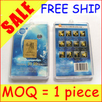 Wholesale ON SALE MOQ piece Anti radiation Cellphone Sticker K Gold Plated Mobile Cell Phone Stickers